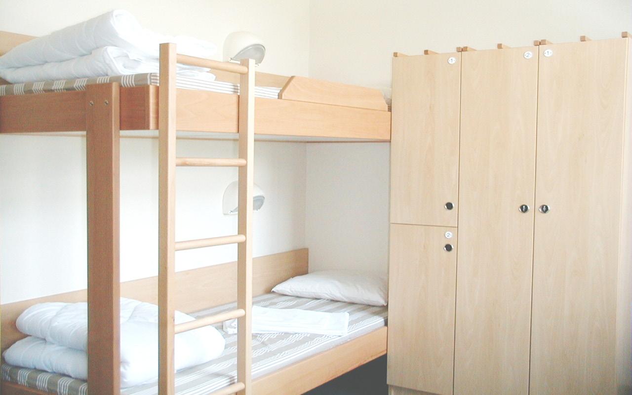 1200 Vienna Brigittenau Wien - Zimmer Kategorie 2 Jugendgästehaus / Room Youth Hostel