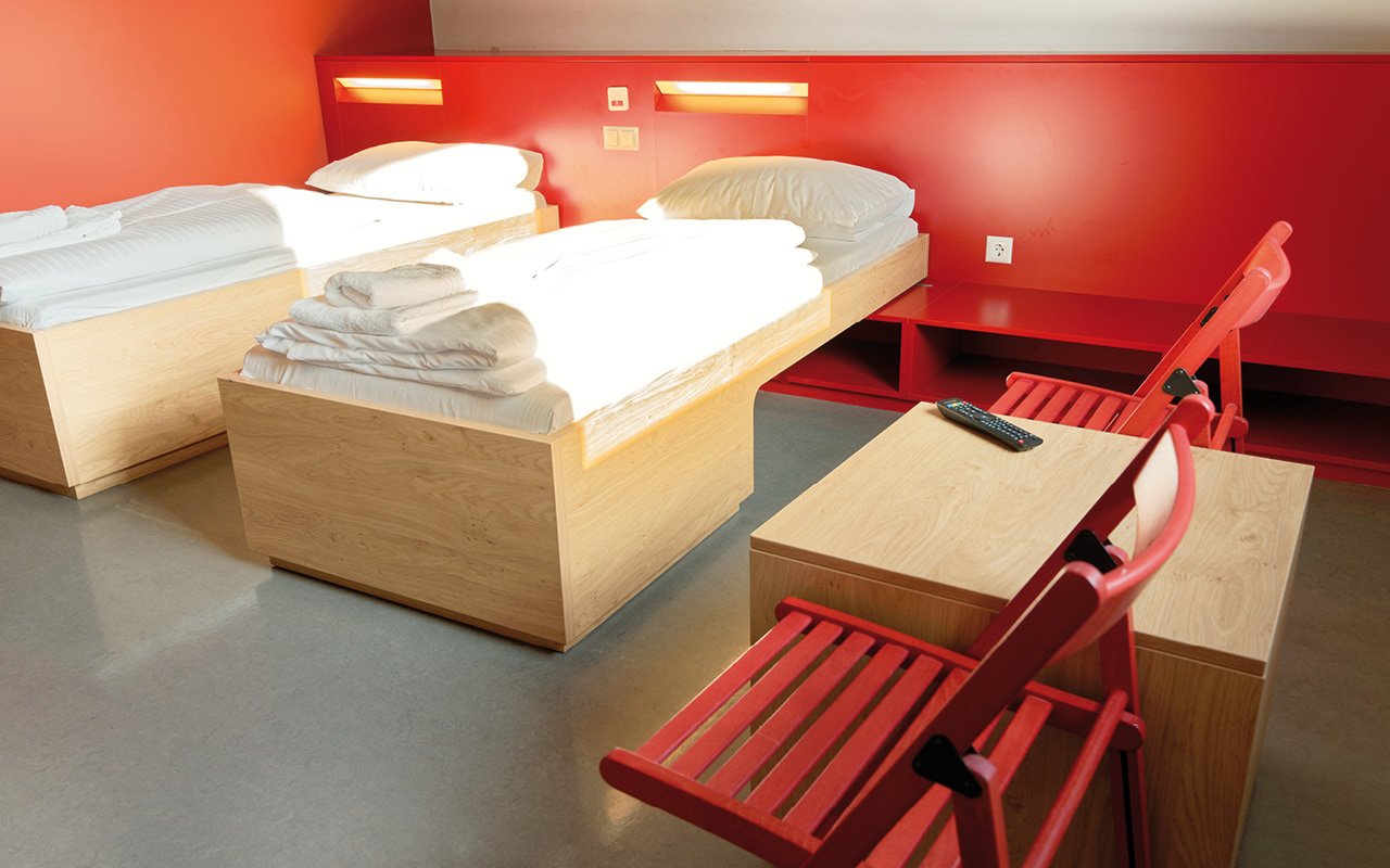 1200 Vienna Brigittenau Wien - Doppelzimmer / Double room Youth Palace