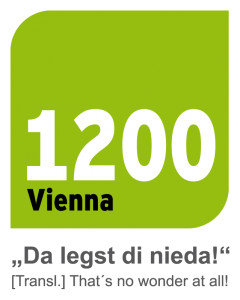 1200 Vienna Logo - da legst di nieda