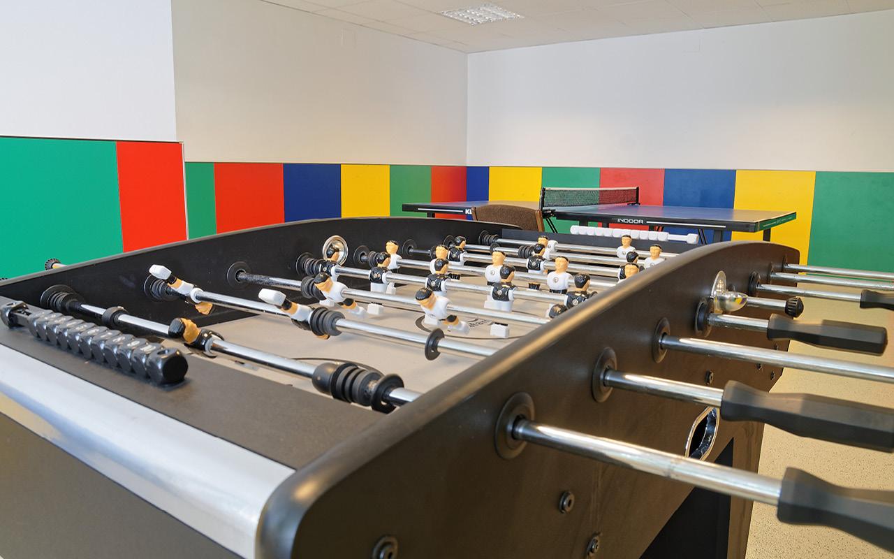 Jugendgästehaus Bad Ischl Aktivraum Tischfussball - © Christoph Sammer