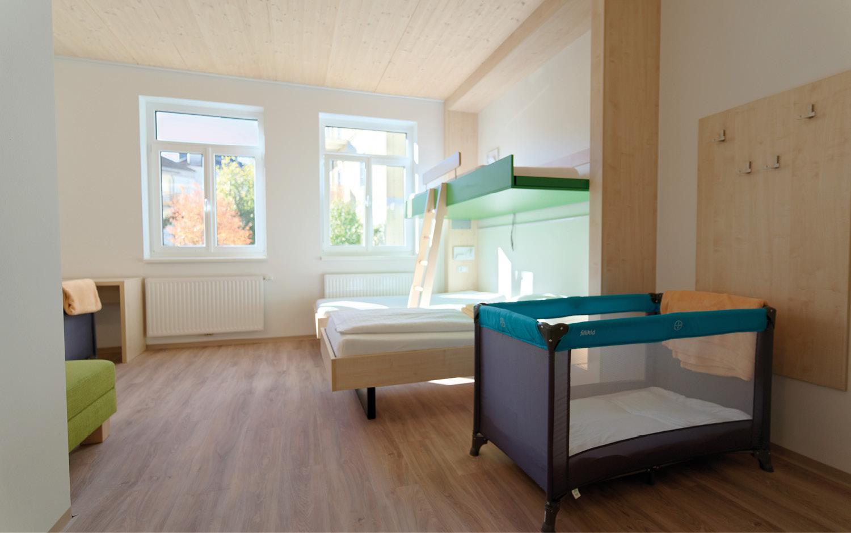 Jugendgästehaus Bad Ischl Familienzimmer - © Christoph Sammer