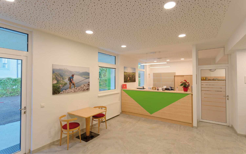 Jugendgästehaus Bad Ischl Rezeption