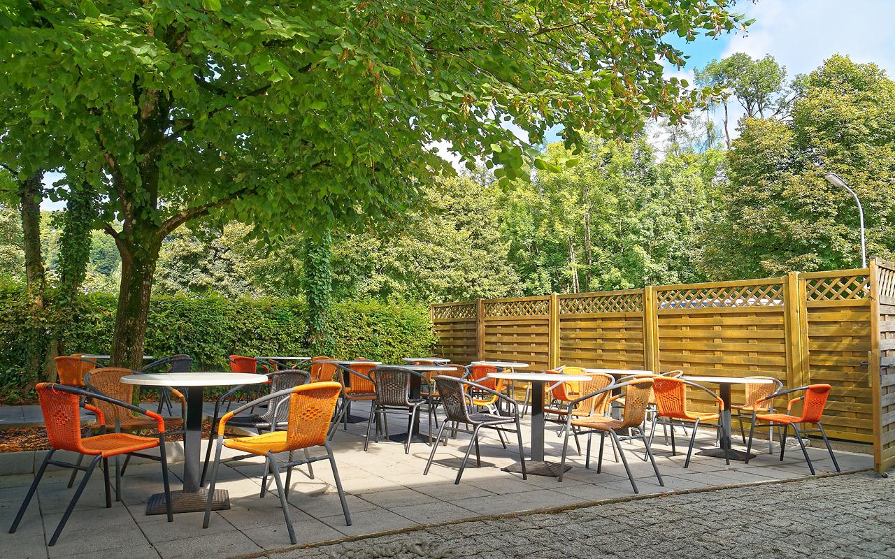 Jugendgästehaus Bad Ischl Terrasse - © Christoph Sammer