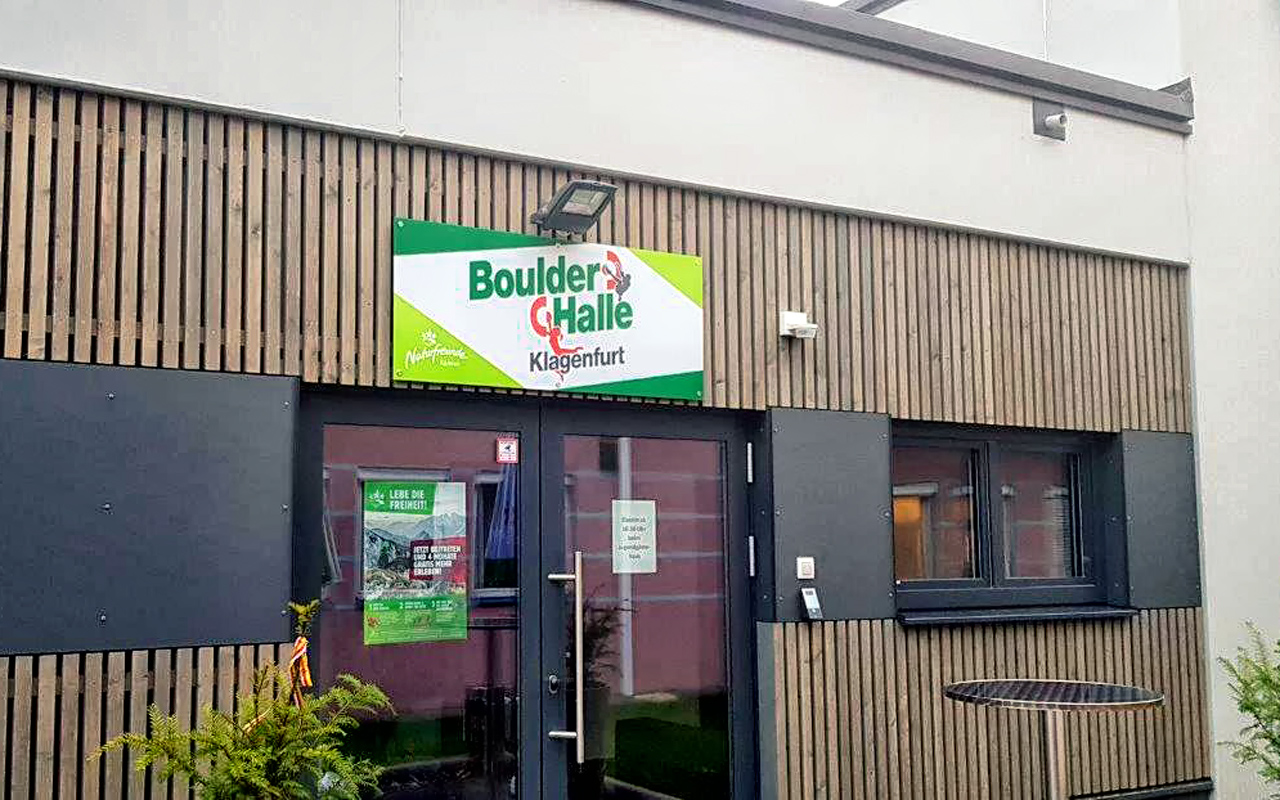 Boulderhalle Jugendgästehaus Klagenfurt Aussen