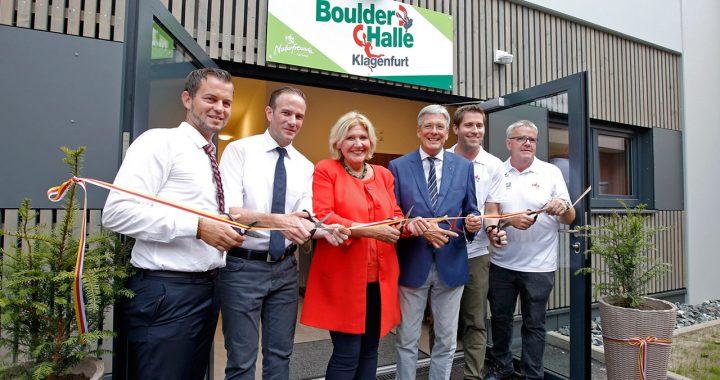 Eröffnung der Boulderhalle im Jugendgästehaus Klagenfurt