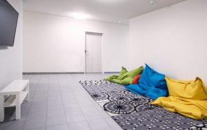 Jugendgästehaus Braunau TV Raum