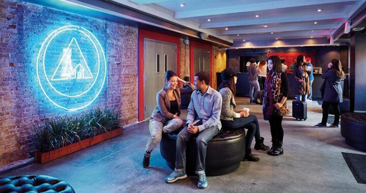 Hostelling International Lounge Symbolbild