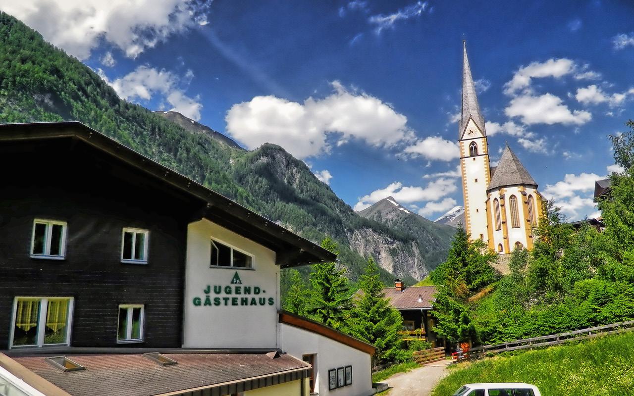 Jugendgästehaus Heiligenblut am Großglockner im Sommer