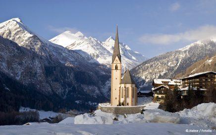 Heiligenblut Ort im Winter - © Habse / Fotolia