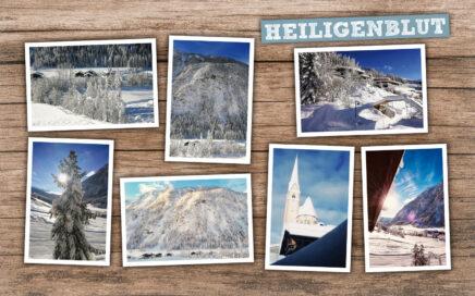 Winterpracht in Heiligenblut Collage