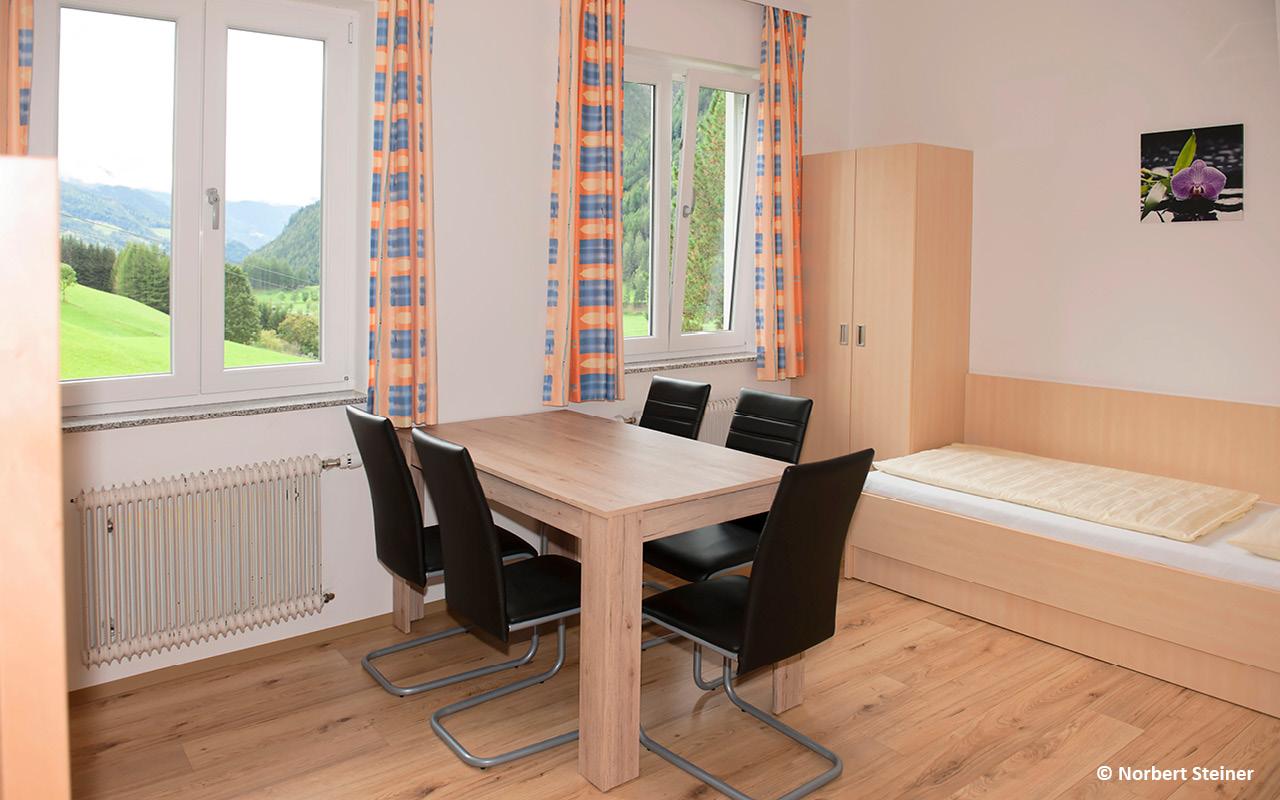 Jugendgästehaus Heiligenblut Zimmer - © Norbert Steiner