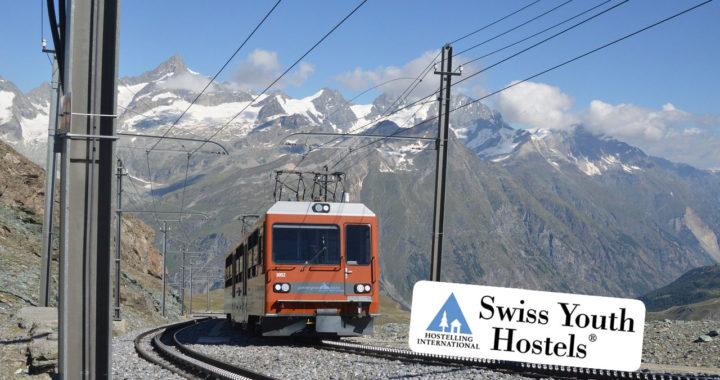 Interrail Angebot Schweizer Jugendherbergen Symbolbild