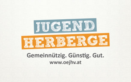 Logo Jugendherberge: gemeinnützig, günstig, gut
