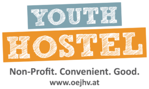 Logo Youth Hostel: non-profit, convenient, good
