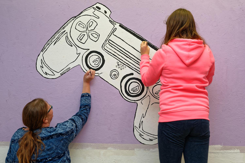 Jugendkunstprojekt Jugendherberge Neu Nagelberg