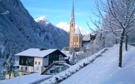 Jugendgästehaus Heiligenblut im Winter