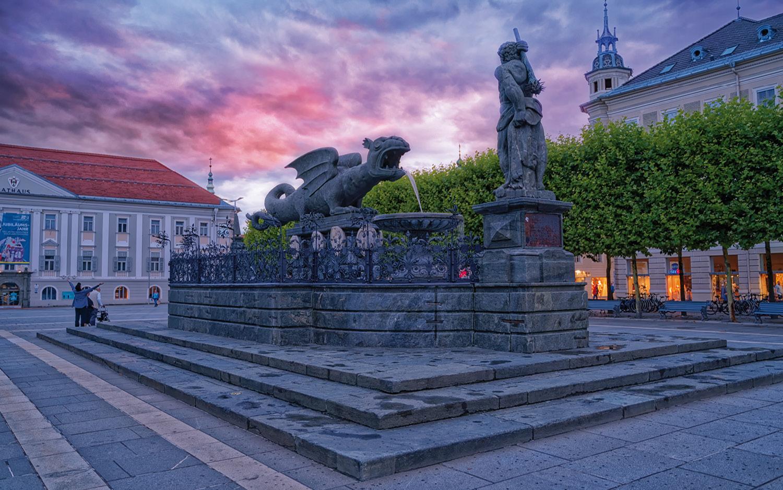 Klagenfurt am Wörthersee Lindwurm- © Christoph Sammer