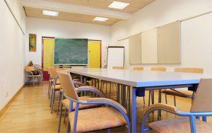 Jugendgästehaus Klagenfurt Seminarraum - © Christoph Sammer