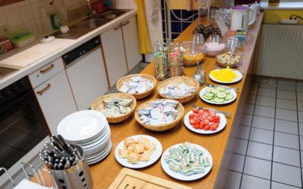 Jugendherberge Krems Frühstücksbuffet - © Christoph Sammer