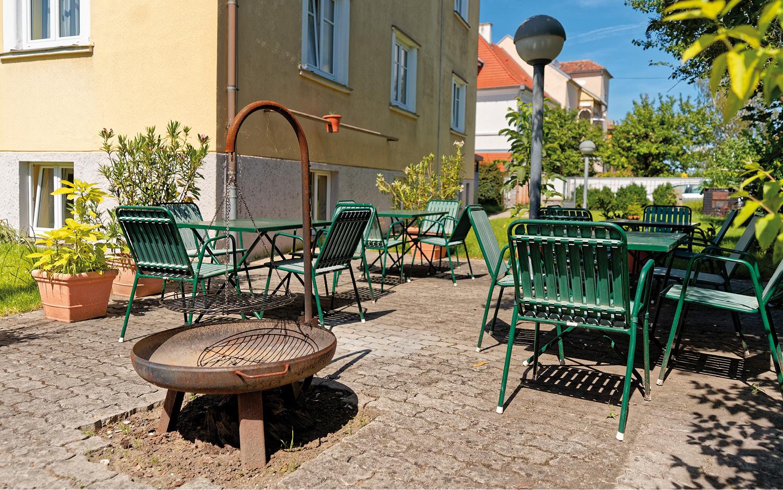Jugendherberge Krems Garten - © Christoph Sammer