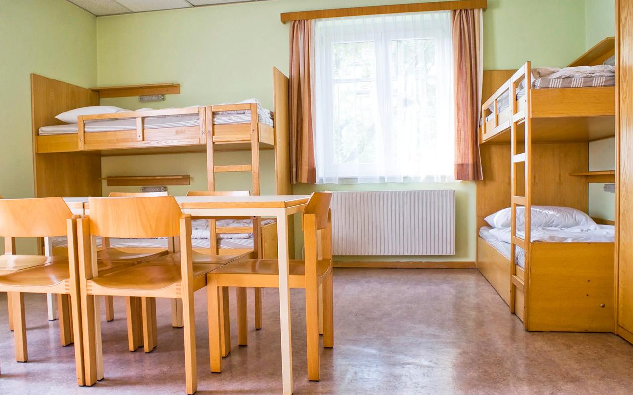 Jugendherberge Krems Zimmer