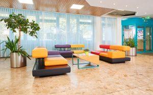 Jugendgästehaus Linz Lobby - © pixelkinder.com