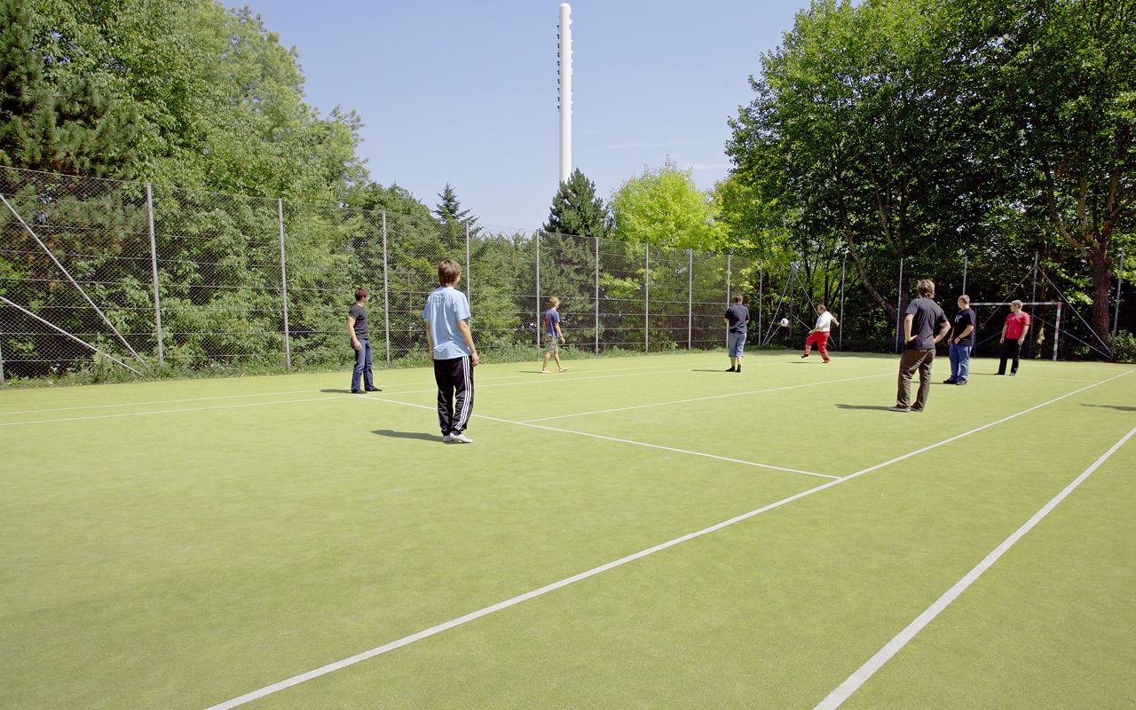 Jugendgästehaus Linz Sportplatz