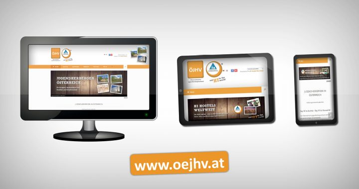 Neue Website www.oejhv.at - Responsive Design