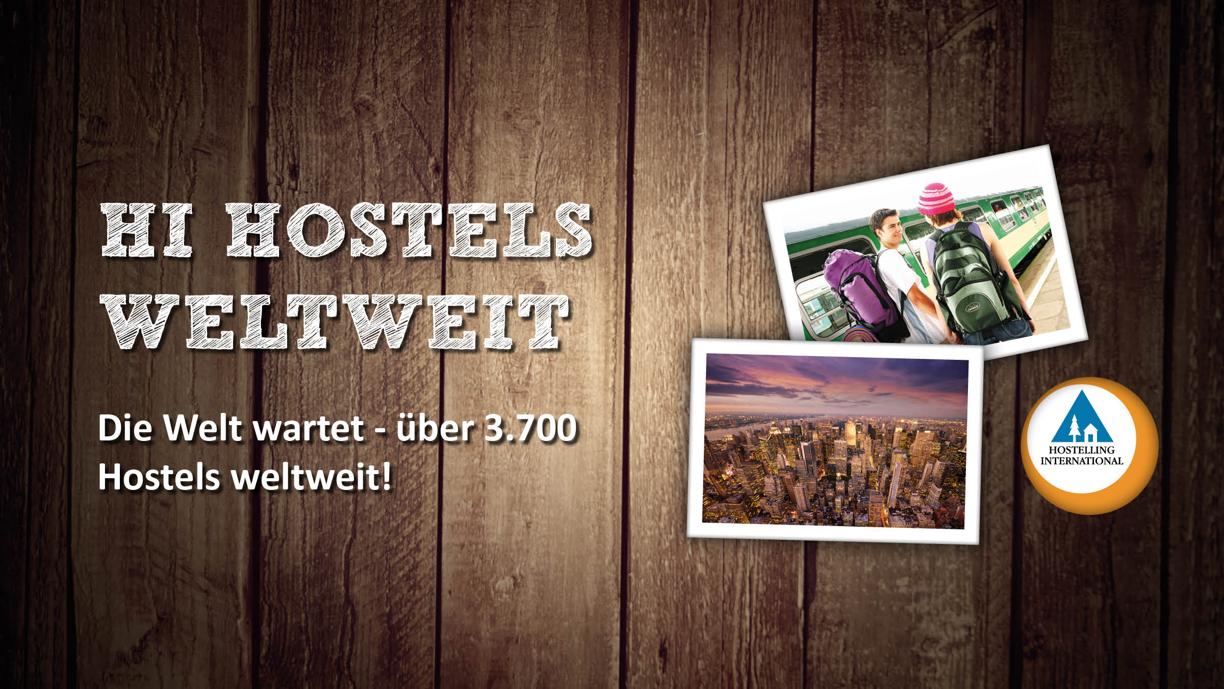 Hostelling International: Hostels weltweit