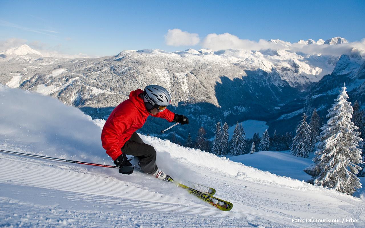 Skigebiet Dachtein West - © OÖ Tourismus / Erber