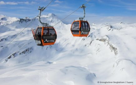 Skigebiet Heiligenblut Grossglockner- © Grossglockner Bergbahnen / Zupanc
