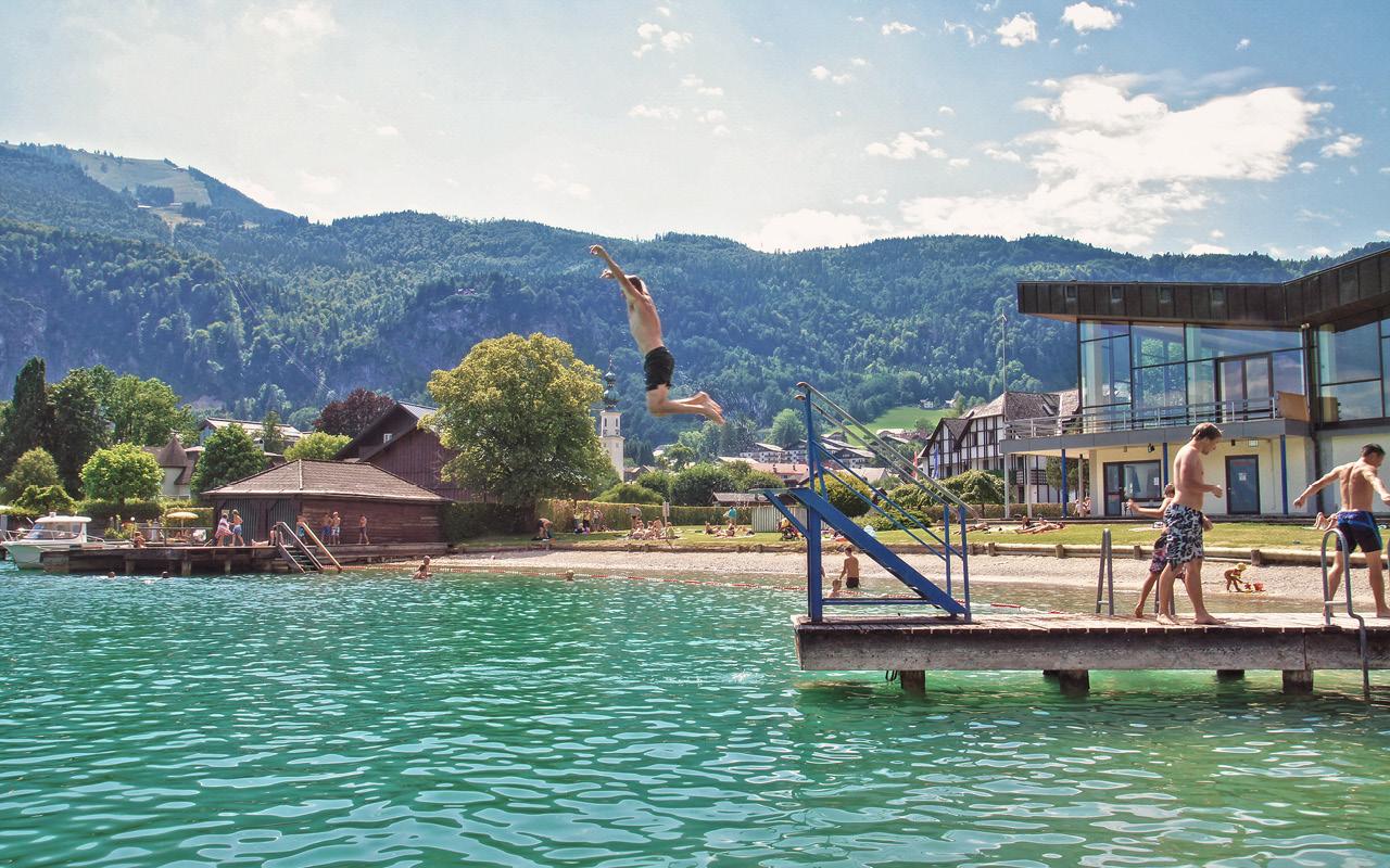 St. Gilgen Strandbad Sommer - © Christoph Sammer