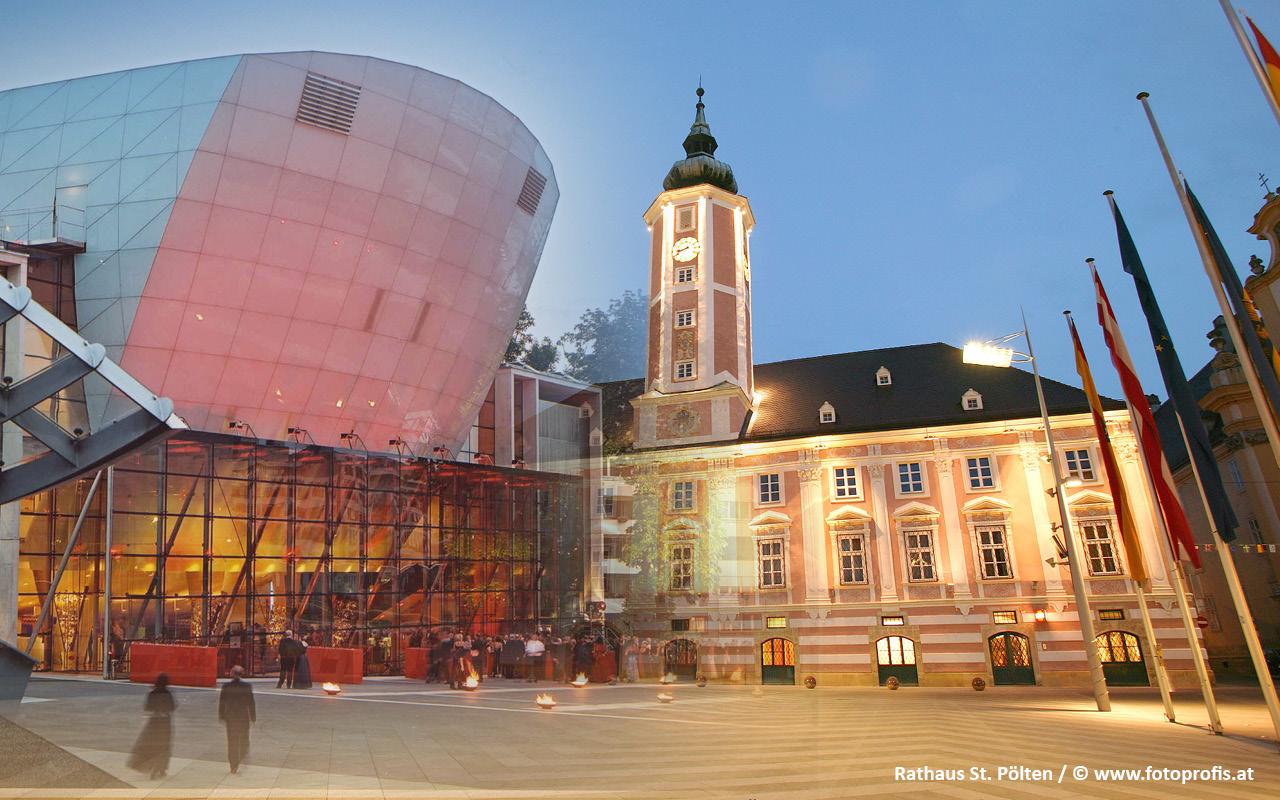 St. Pölten Rathaus - © www.fotoprofis.at