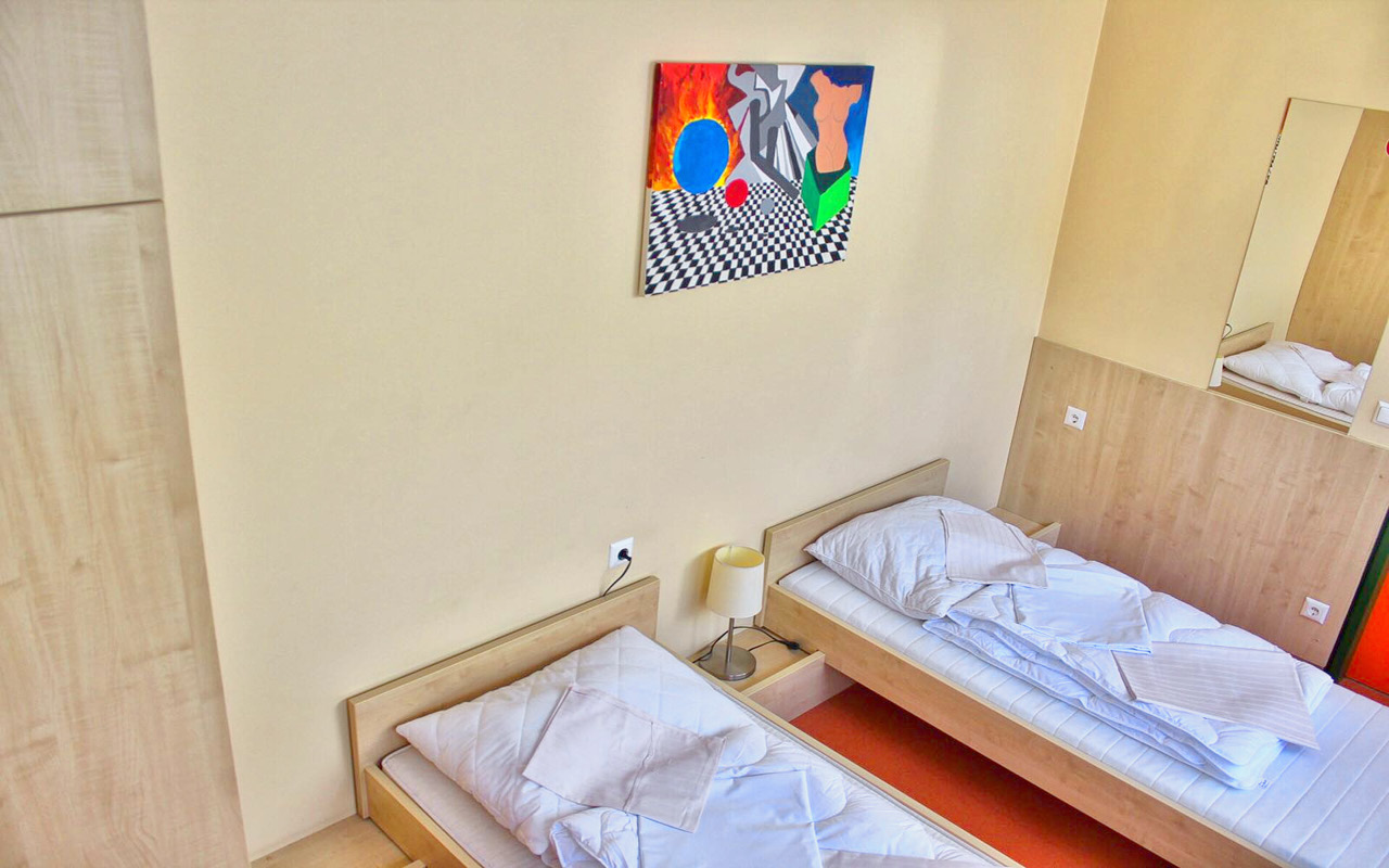 Jugendherberge St. Pölten Zweibettzimmer