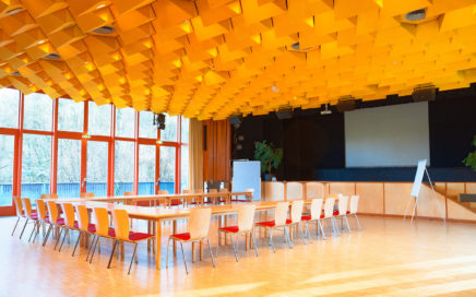 Jugendgästehaus Velden Cap Wörth Festsaal - © Christoph Sammer