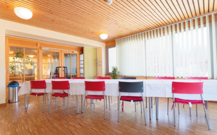 Jugendgästehaus Velden Cap Wörth Tagungssaal klein - © Christoph Sammer