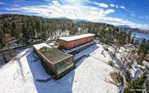 Jugendgästehaus Velden Cap Wörth Luftaufnahme - © Felix Graf