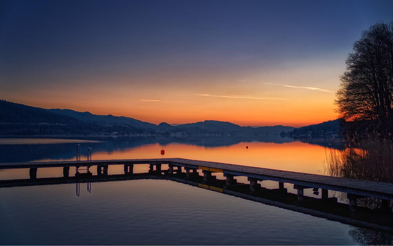 Jugendgästehaus Velden Cap Wörth Sonnenaufgang - © Christoph Sammer