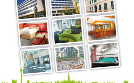 Wien Jugendherbergen Folder Cover