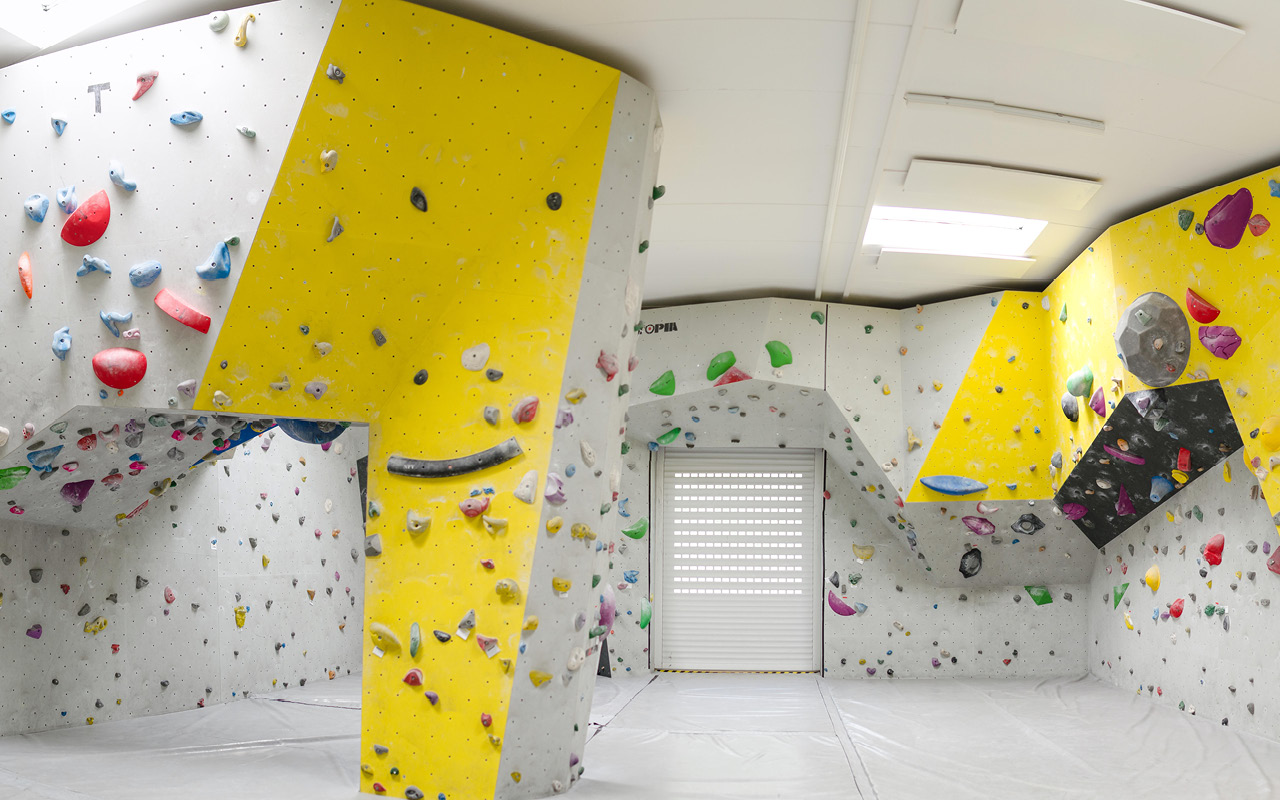 Jugendgästehaus Villach Boulderhalle - © Andreas Fillei