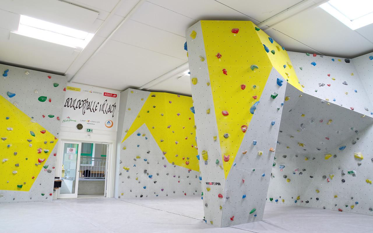 Jugendgästehaus Villach Kletterhalle - © Christoph Sammer