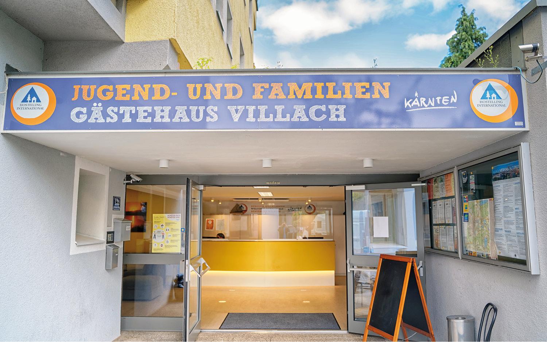 Jugendgästehaus Villach Eingang - © Christoph Sammer
