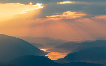 Sonnenaufgang am Ossiacher See, Foto: pixabay
