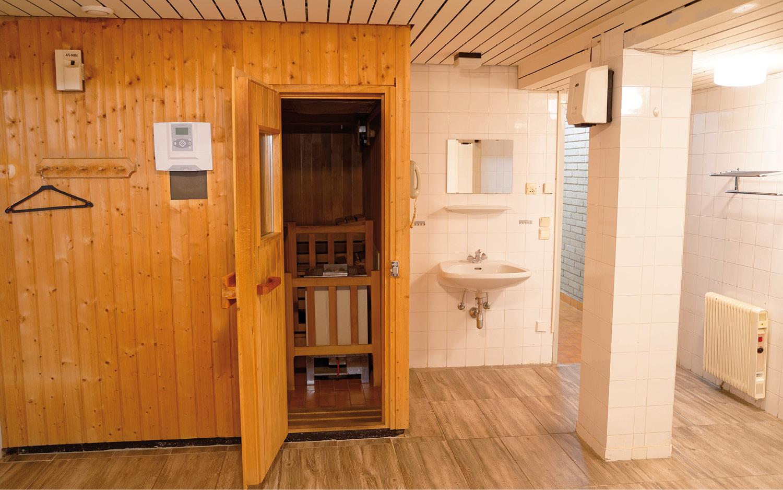 Jugendgästehaus Villach Saunabereich - © Christoph Sammer