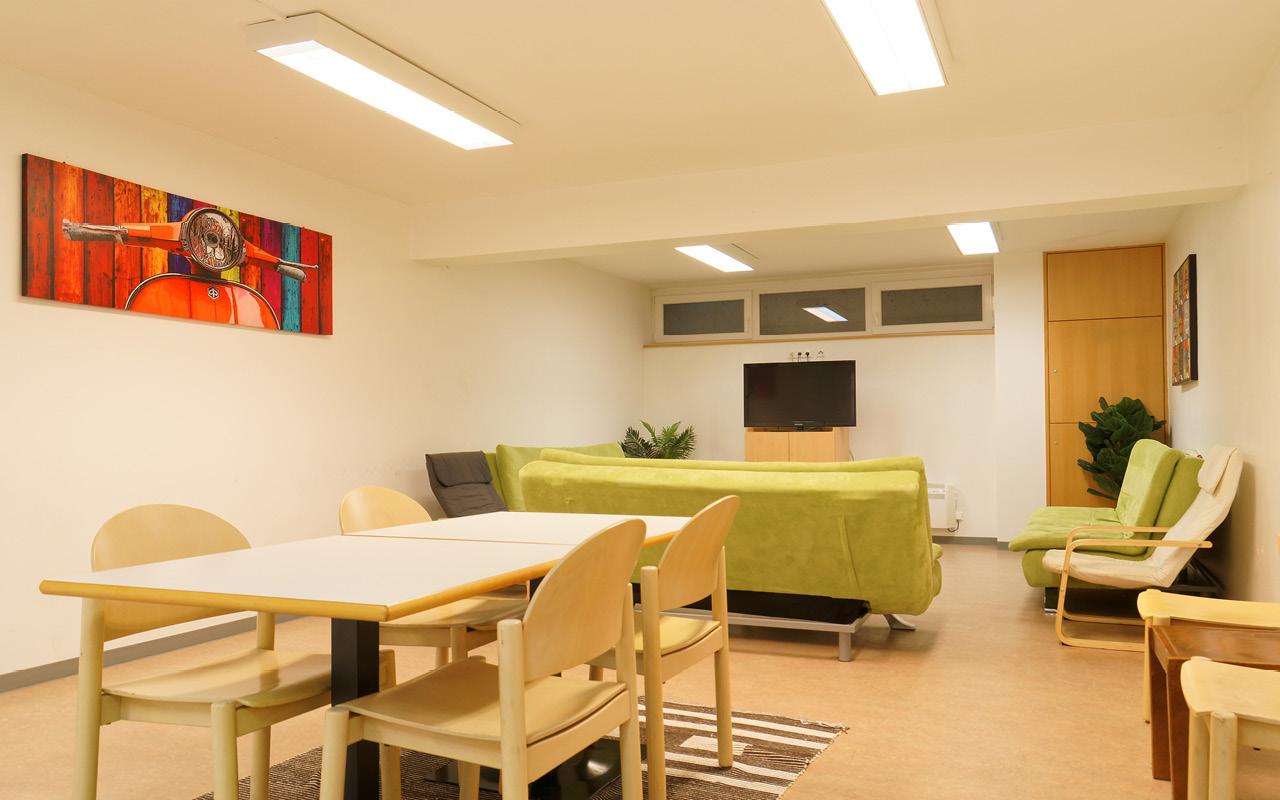 Jugendgästehaus Villach TV-Raum - © Christoph Sammer