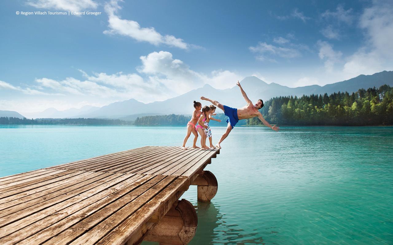 Region Villach - Urlaub am See, © Villach Tourismus - Edward Groeger
