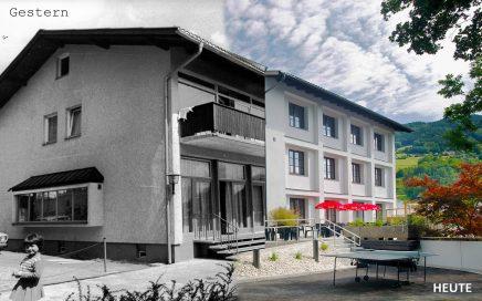 Jugendgästehaus Mondsee gestern und heute