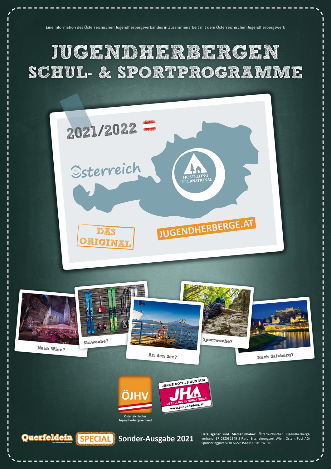 Catalog: School Offers Youth Hostels in Austria