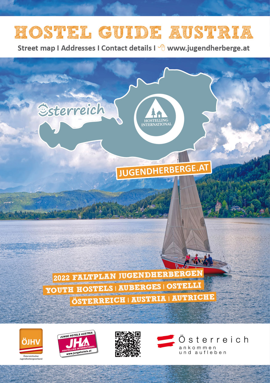 Brochure: Road map Hostel Guide Austria